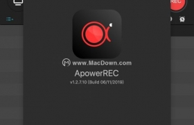 ApowerREC for mac 1.2.2 破解免费版